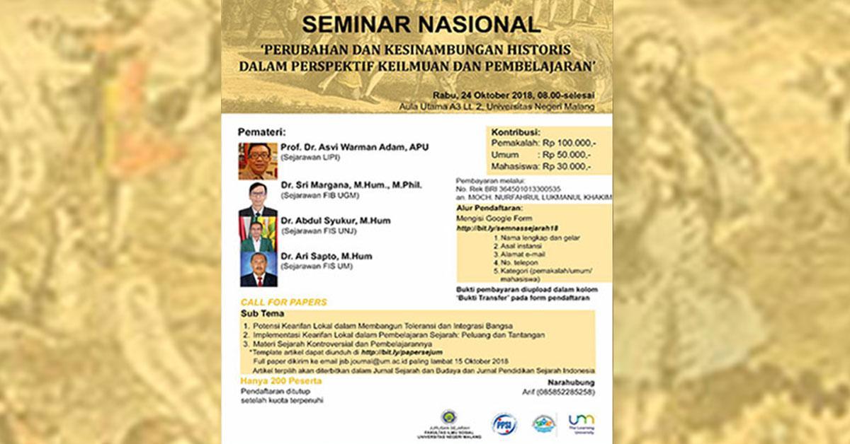 Korem Bantah Larang Seminar di Malang