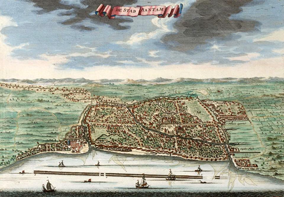 Jejak Orang Prancis di Kesultanan Banten