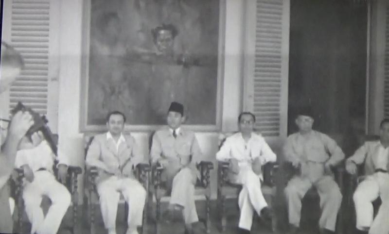 Lukisan Saksi Bisu Pembacaan Proklamasi Kemerdekaan
