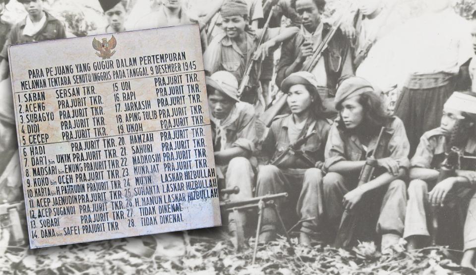 Inggris Dipecundangi Pejuang Indonesia