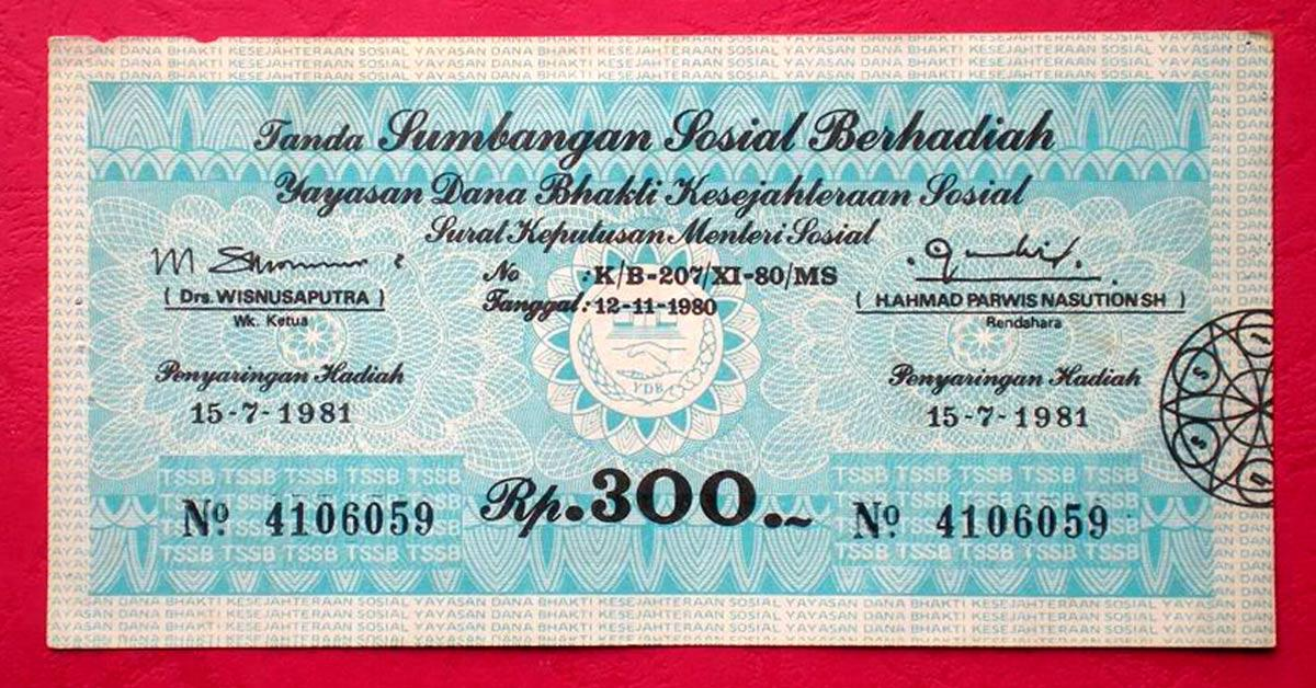 Judi Resmi di Indonesia - Historia