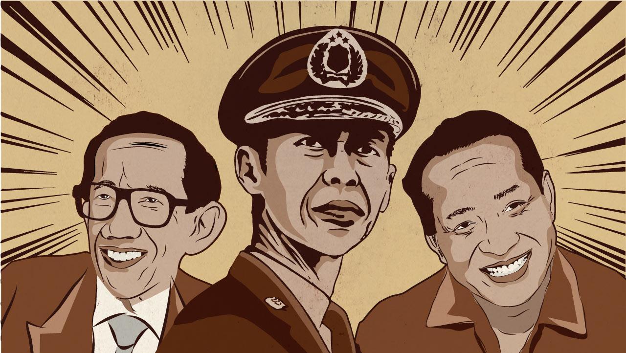 Dipercaya Soemitro, Ditolak Soeharto