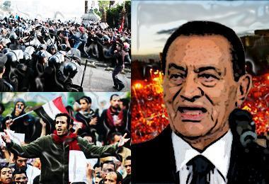 Mesir di Tangan Mubarak
