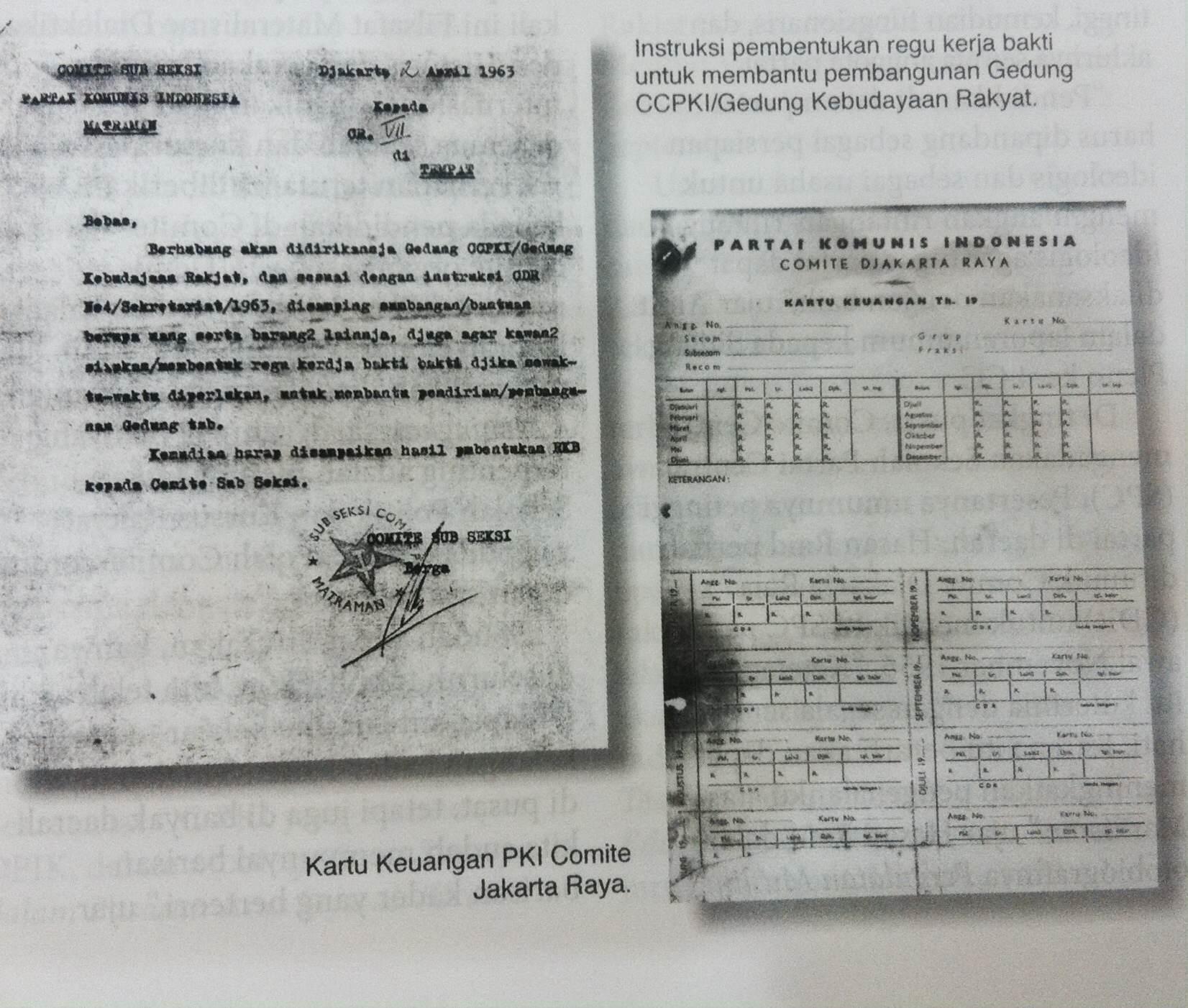 Asal-usul Dana Partai Komunis Indonesia