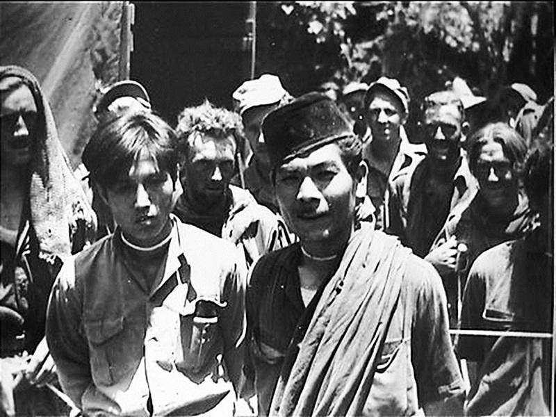 Gerilyawan Korea di Pihak Indonesia