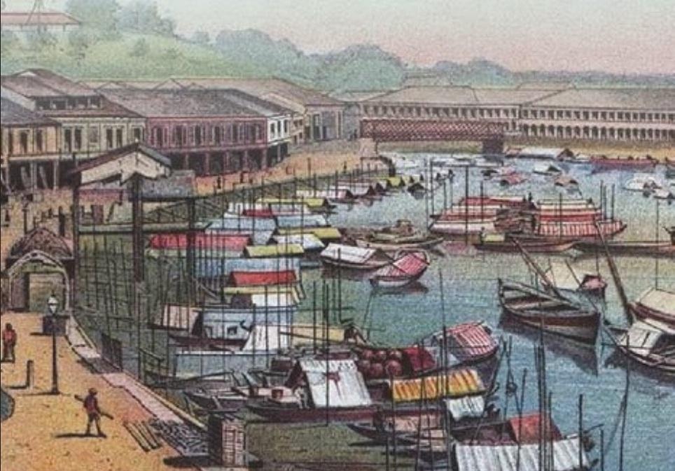 Para Pelancong Mencatat Sejarah Singapura