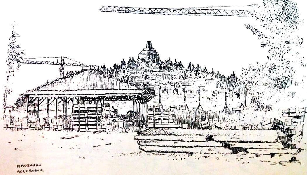 Daoed Joesoef Dan Borobudur Historia