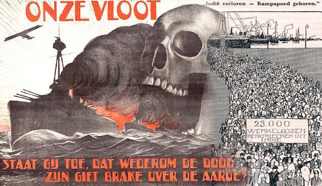Propaganda Armada Perang Onze Vloot