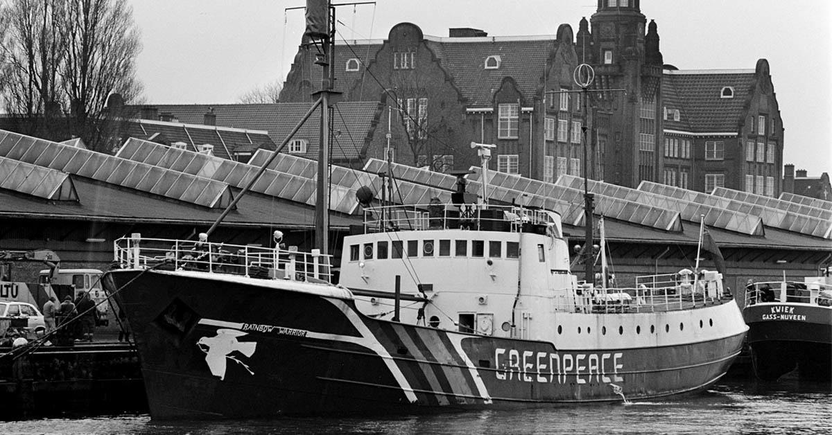 Akhir Tragis Kapal Greenpeace Penentang Nuklir Prancis