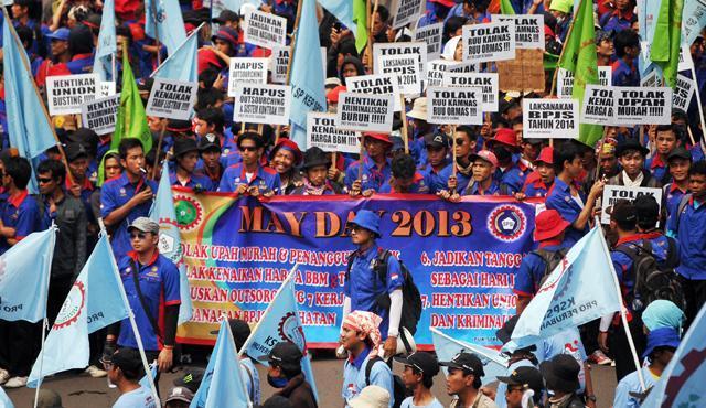Jejak Buruh di Awal Mei