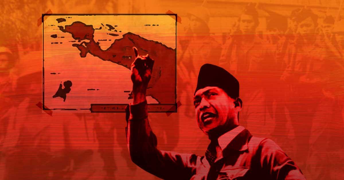 Papua dan Ambisi Presiden Pertama