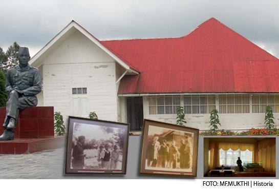 Rumah Sukarno di Tanah Karo