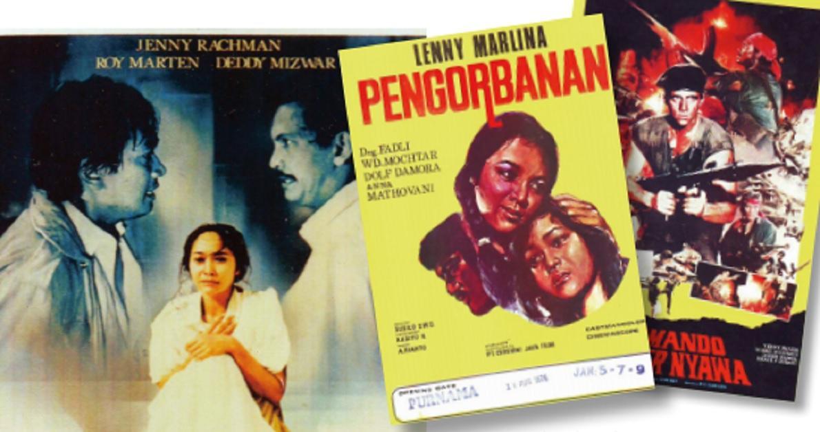 Jejak Film dalam Poster