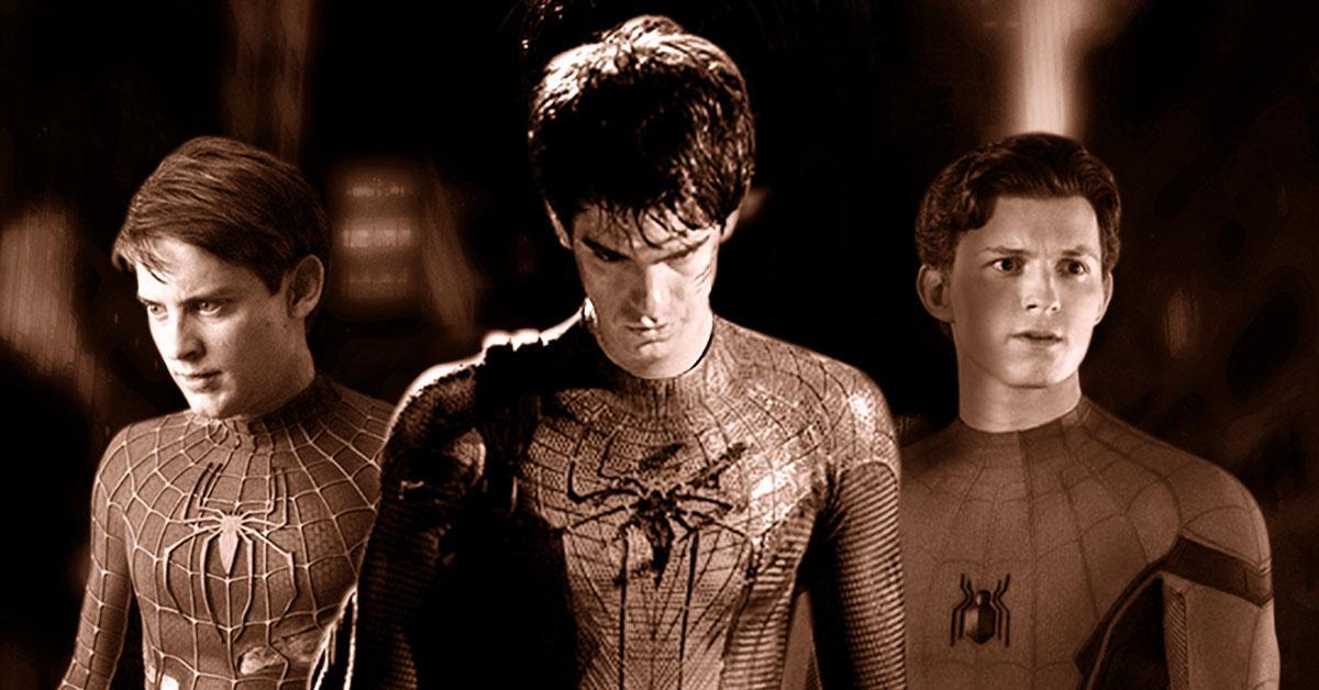 Enam Wajah di Balik Topeng Spider-Man