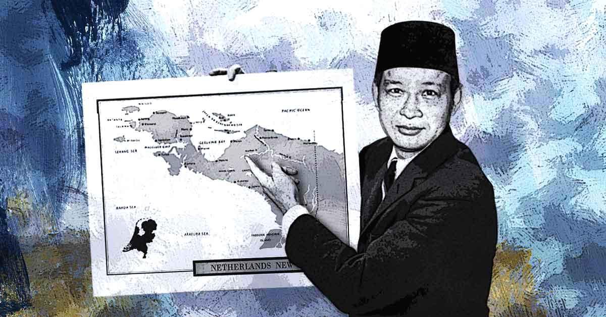 Papua di Tangan Soeharto