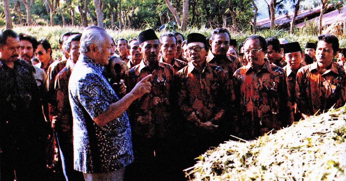Nasihat Soeharto untuk Gubernur Irian Jaya