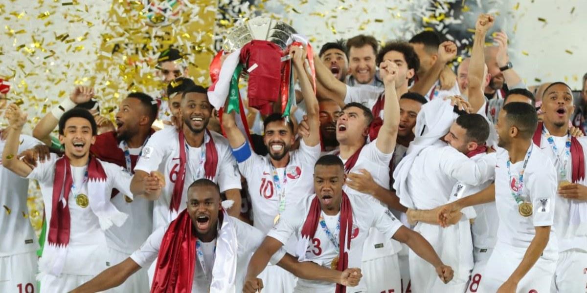 Qatar di Gelanggang Sepakbola