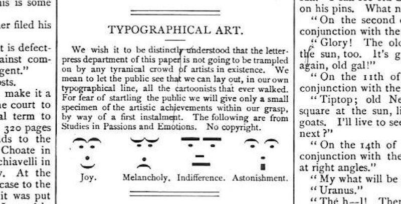 Emoticon Sejak Abad 19