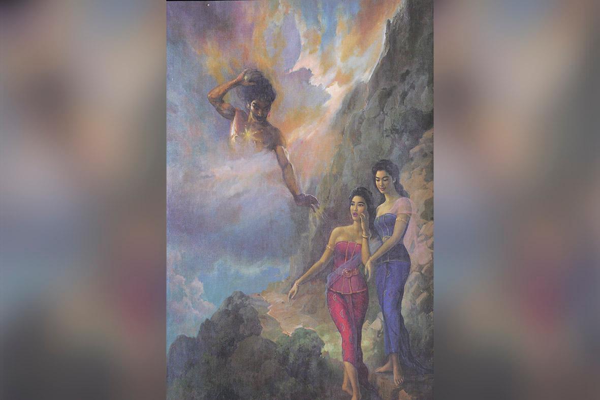 Hikayat Lukisan Gatotkaca
