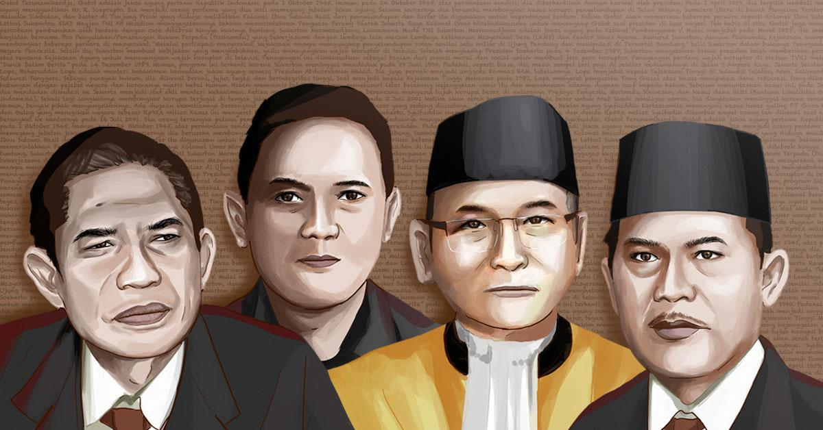 Baharudin Lopa Jaksa Agung Mereka Yang Dihabisi Karena Memberantas Korupsi Historia
