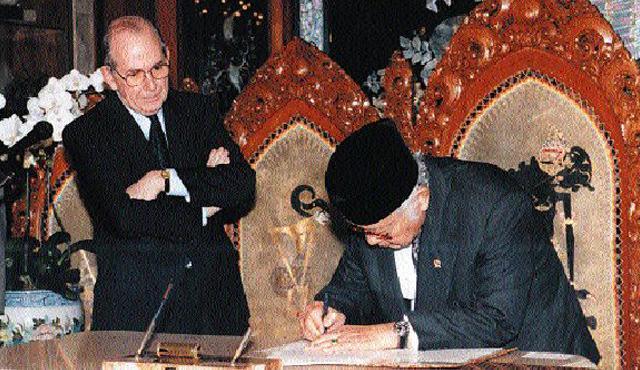 Saat Soeharto Bicara Sejarah