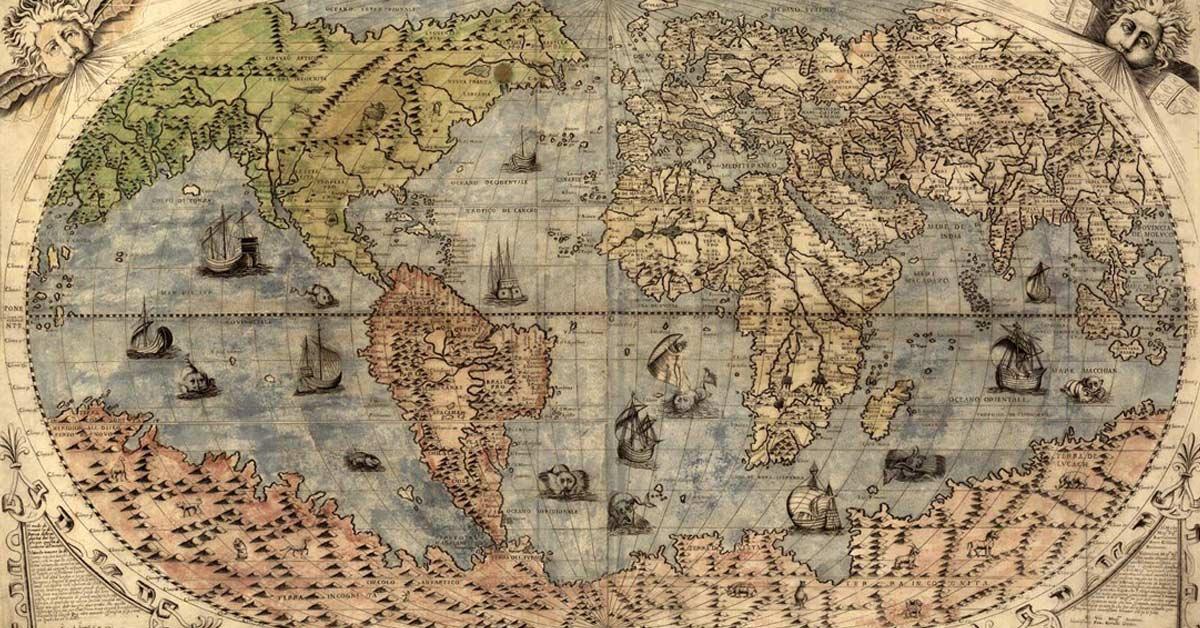 Peta Dan Cara Manusia Memandang Dunia Historia