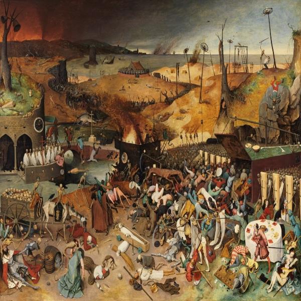 Kengerian Pandemi Global Dalam Lukisan Historia
