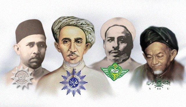 Empat Tokoh Islam di Indonesia