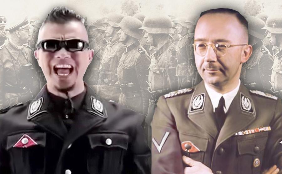 Baju Nazi ala Ahmad Dhani