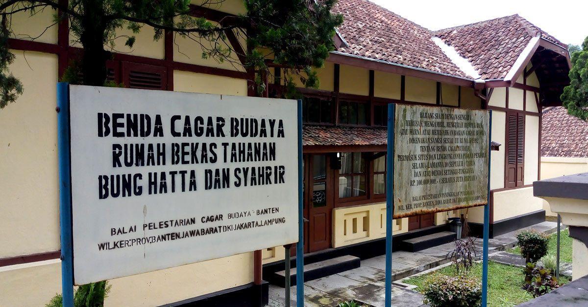 Riwayat Rumah Tahanan Hatta Dan Sjahrir Di Sukabumi Historia