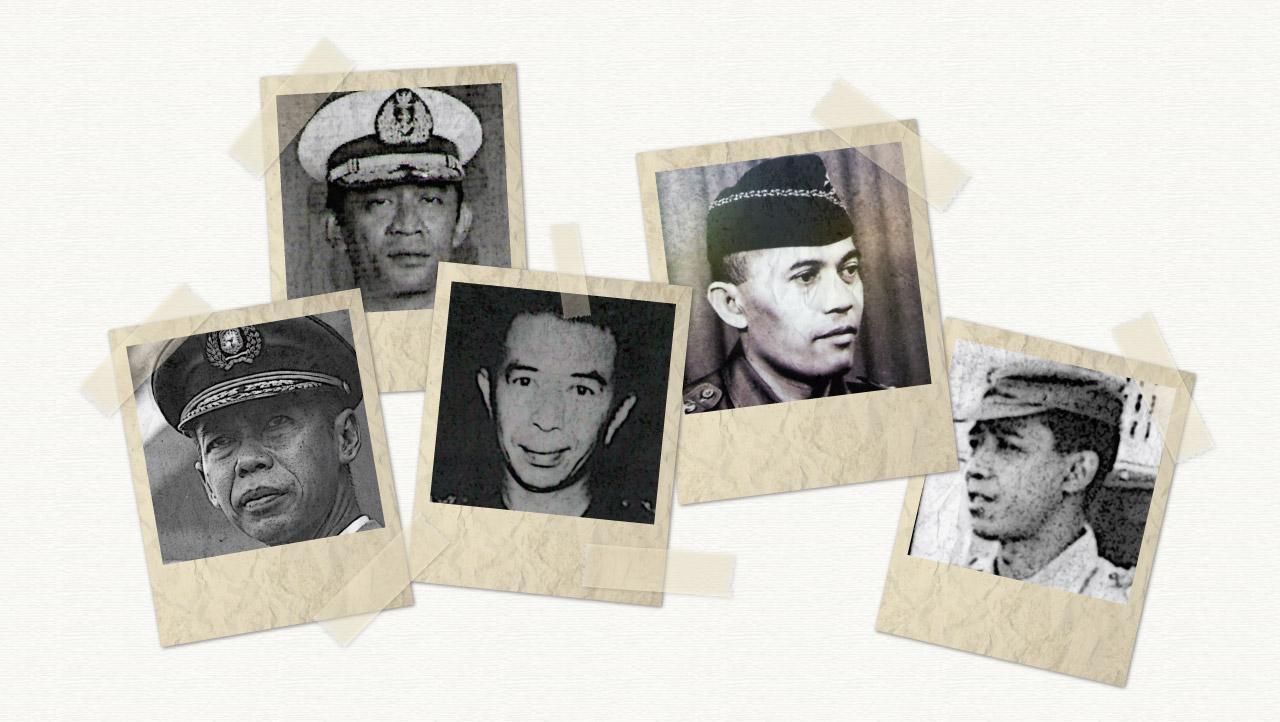 """Lima Jenderal yang """"Dimatikan"""" Soeharto"""