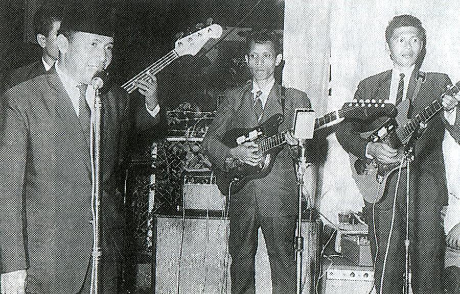 Band Asal Bapak Senang Pengawal Sukarno