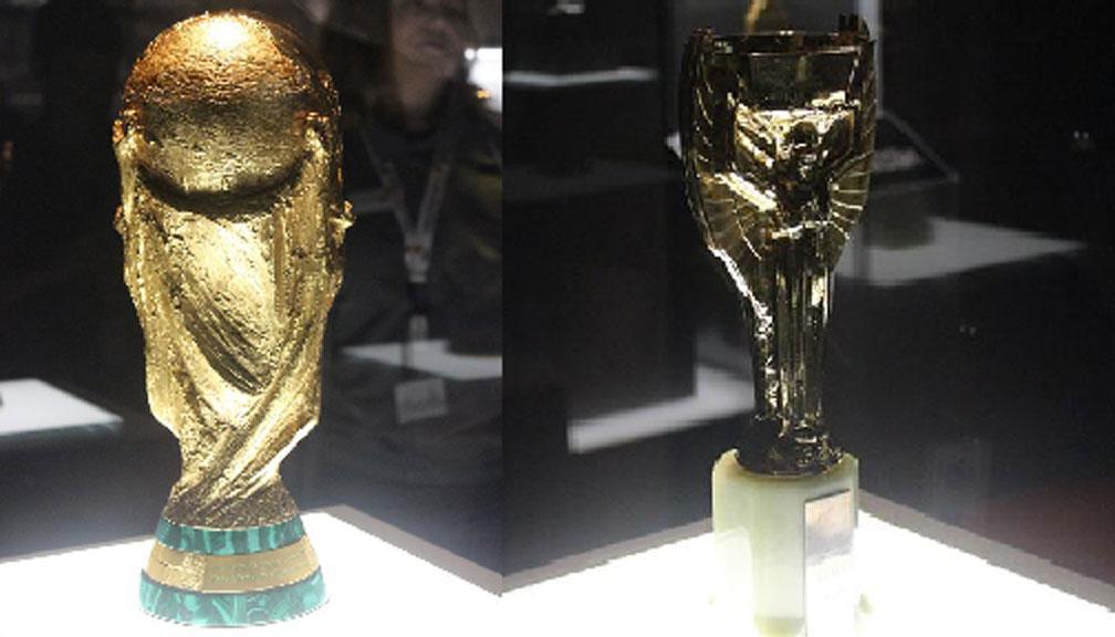 Trofi Piala Dunia Tinggal Kenangan