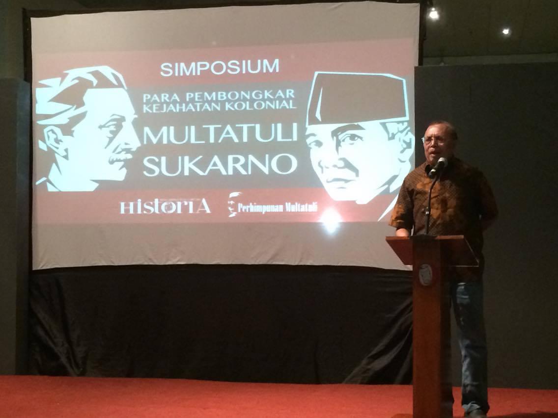 Nasib Sukarno Lebih Tragis dari Multatuli
