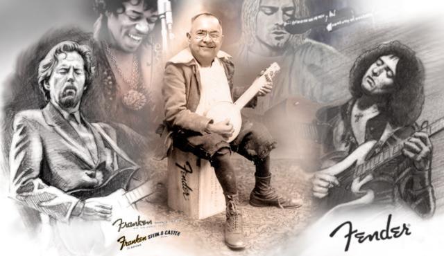 Leo Fender Revolusioner Dunia Musik
