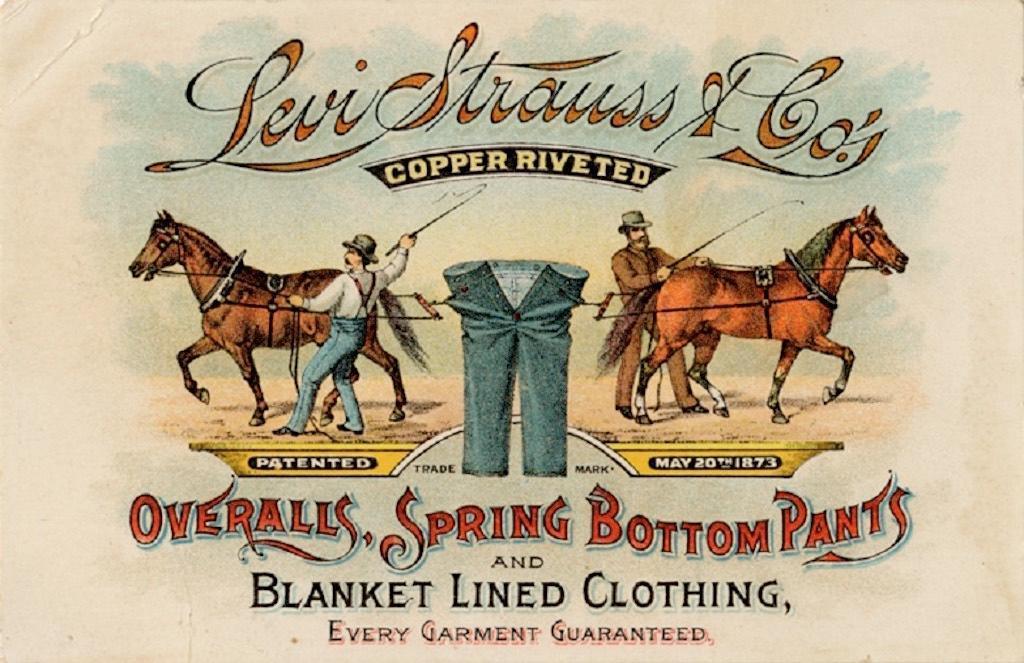 Jeans, Celana Pekerja Tambang