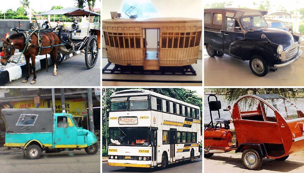 Enam Moda Angkutan di Jakarta yang Tinggal Kenangan