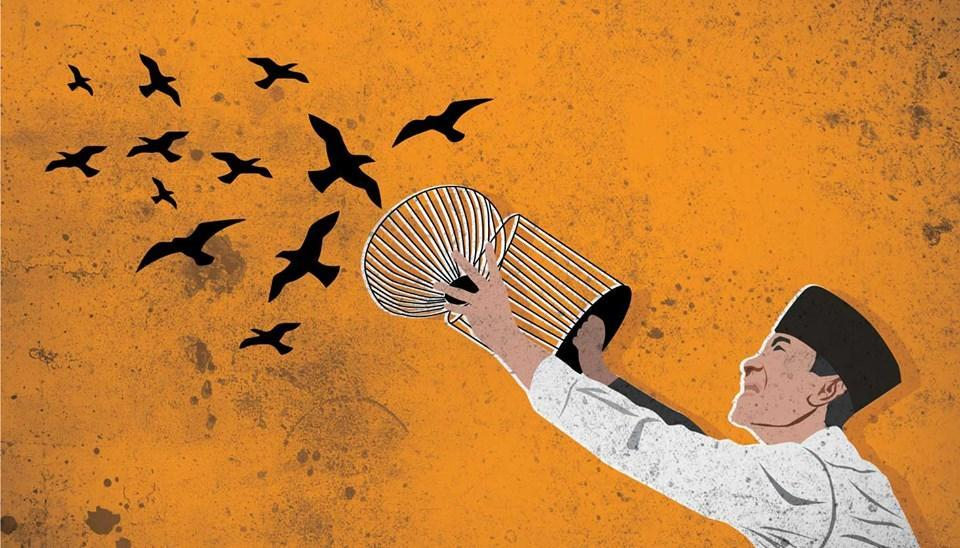 Si Bung dan Para Burung