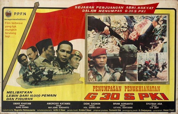 Tujuh Pemeran Film Pengkhianatan G30S/PKI