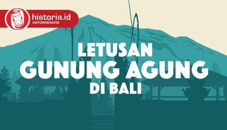 Letusan Gunung Agung di Bali