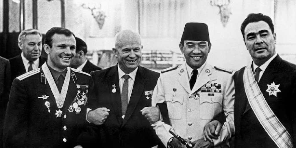 Yuri Gagarin Pahlawan Indonesia