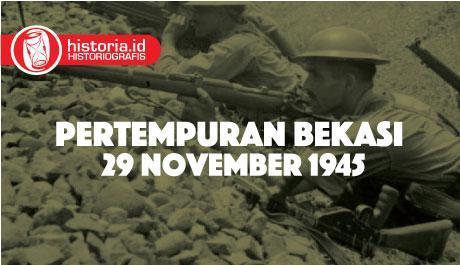 Pertempuran Bekasi 29 November 1945