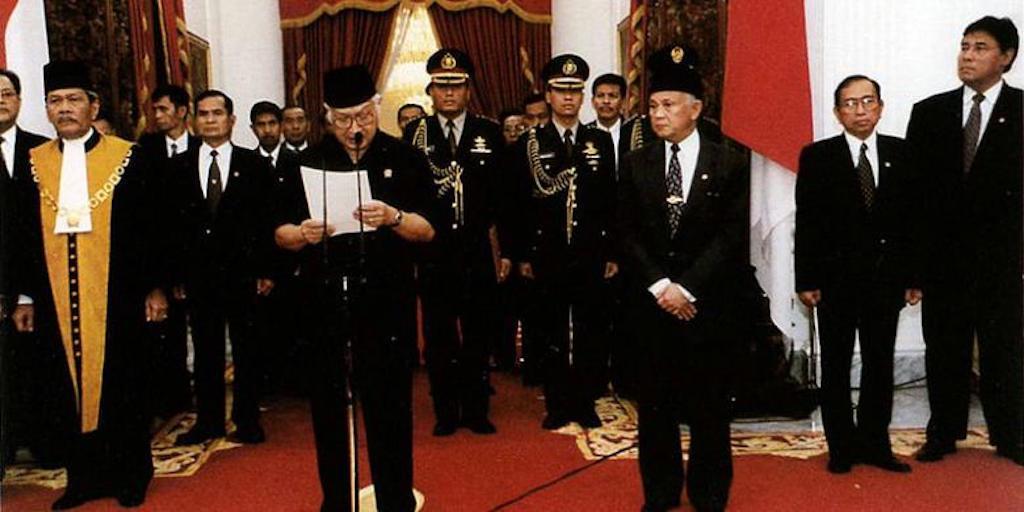 Soeharto Jadi Presiden Lagi